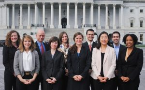NSAC staff at work on the Hill