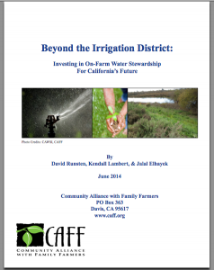 CAFF Beyond Irrigation District