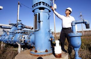 Groundwater Pump Inspection in San Lorenzo, CA Photo Courtesy of Bay Area News Group