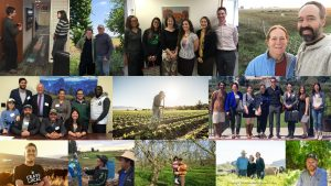 collage of photos of farmers, ranchers, and advocates on the ground and in meetings with legislators